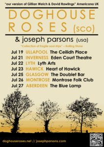 July Scottish Tour