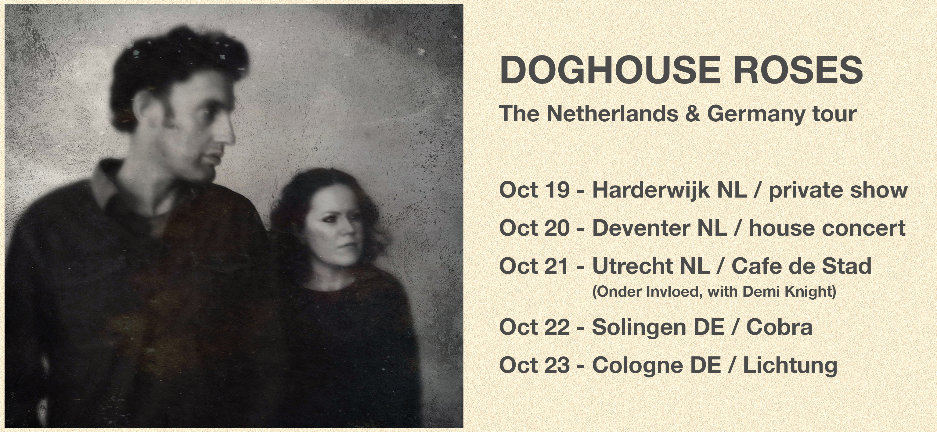 Doghouse Roses | Official website | New album Lost Is Not Losing